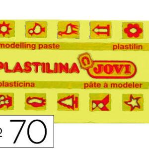 PLASTILINA JOVI 50 GR. AMARILLO CLARO 70-02