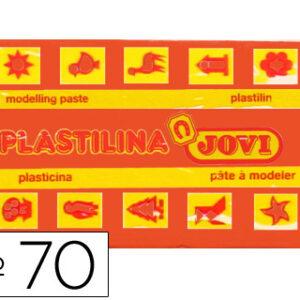 PLASTILINA JOVI 50 GR. NARANJA 70-04