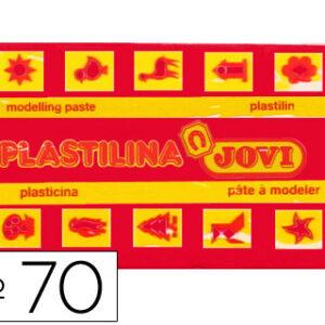 PLASTILINA JOVI 50 GR. ROJO 70-05