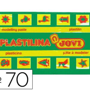 PLASTILINA JOVI 50 GR. VERDE CLARO 70-10