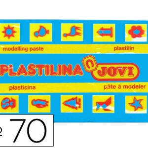 PLASTILINA JOVI 50 GR. AZUL CLARO 70-12