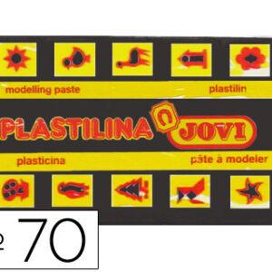 PLASTILINA JOVI 50 GR. NEGRA 70-15