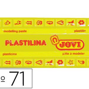 PLASTILINA JOVI 150 GR. AMARILLO OSCURO 71/03