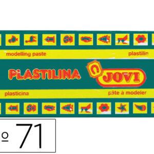 PLASTILINA JOVI 150 GR. VERDE OSCURO 71/11