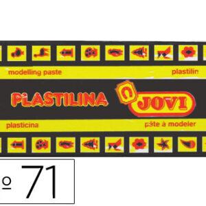 PLASTILINA JOVI 150 GR. NEGRO 71/15