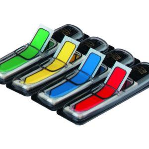 POST-IT Banderitas separadoras forma flechas 12X43,1 dispensador 4 colores 684ARR3