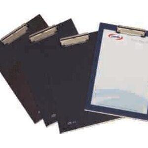PARDO Portablocs Folio Pinza metal Negro PVC 82001