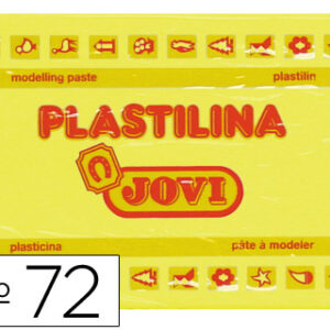 PLASTILINA JOVI 350GR AMARILLO CLARO 72-02