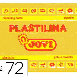 PLASTILINA JOVI 350GR AMARILLO OSCURO 72-03