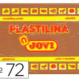 PLASTILINA JOVI 350GR MARRON 72-09