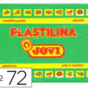 PLASTILINA JOVI 350GR VERDE CLARO 72-10