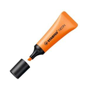 STABILO Marcador fluorescente Neon Tinta base agua Naranja