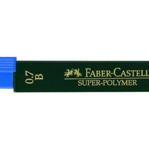 FABER CASTELL Mina Super Polymer 12 ud Trazo 0.5 mm 2B 120502