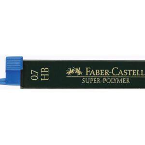 FABER CASTELL Mina Super Polymer 12 ud Trazo 0.7 mm HB 120700