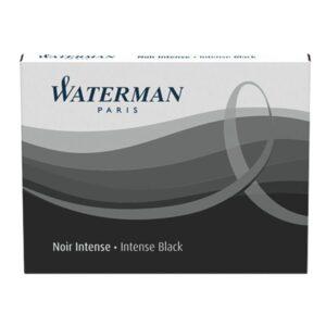 WATERMAN Cartucho tinta Estandar 8 ud Negro