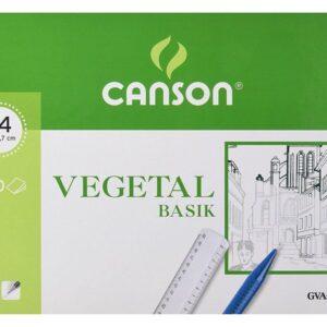 GUARRO CANSON Papel Vegetal 250 Hojas A4 90 Gr