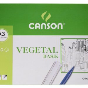 GUARRO CANSON Papel Vegetal 250 Hojas A3 90 Gr