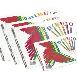 ENRI Bloc Dibujo Pajarita 20 Hojas Folio 125 Gr Liso