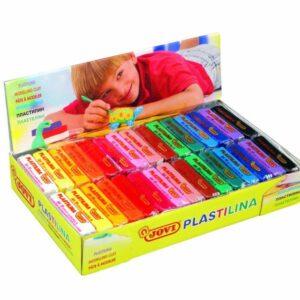 JOVI Plastilina 50 gr. caja 30 ud. colores surtidos 70S