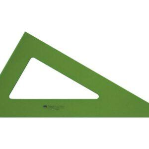 FABER-CASTELL Cartabón Serie tecnica Verde 28 cm