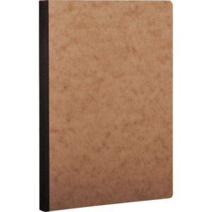 CLAIREFONTAINE Cuaderno Age Bag 96h A5 Cuadricula 5×5 Negro y havana