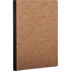 CLAIREFONTAINE Cuaderno Age Bag 96h A4 Liso Havana