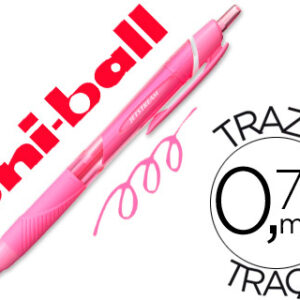BOLIGRAFO JETSTREAM RETRACTIL 0,7 ROSA