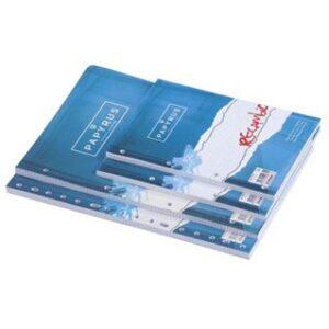 PAPYRUS Recambio de papel 100h Folio Cuadricula 4×4 4 taladros 075734