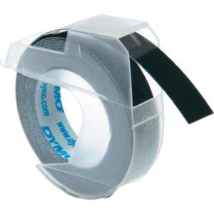 DYMO Cintas 3D 9 mm x 3m Negro Rotulación manual