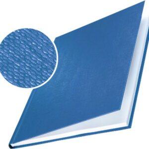 LEITZ Cubiertas encuadernación Impressbind 7 mm Caja 10 ud Azul A4 Lino