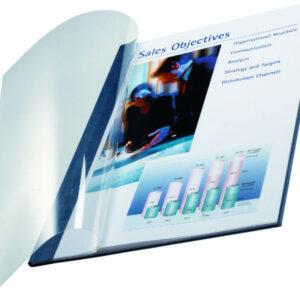 LEITZ Tapas flexibles ImpressBind Caja 10 ud Negro A4 Lomo 17,5 mm 71-105 h 74140095