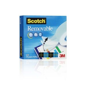 SCOTCH Cinta Magic Adhesiva 19mmx33m Permite escritura  FT510005604