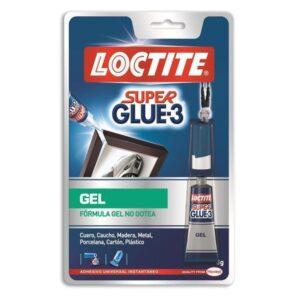LOCTITE Adhesivo Super Glue-3 Gel Instantaneo extrafuerte 3gr  1589332
