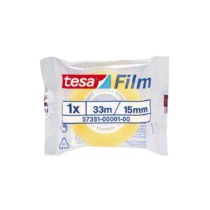 TESA Cinta adhesiva Standard 15mmx33m Resistente Facil corte  57381-00001-00