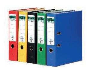ELBA Archivador palanca Rado-Chic Folio Lomo 80mm Rojo 100022673
