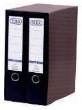 ELBA Módulo Archivador 2ud A4 Lomo 80mm Negro 100580054