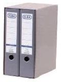 ELBA Módulo Archivador 2ud A4 Lomo 80mm Gris 100580055
