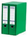 ELBA Módulo Archivador 2ud A4 Lomo 80mm Verde 100580051