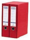 ELBA Módulo Archivador 2ud A4 Lomo 80mm Rojo 100580052