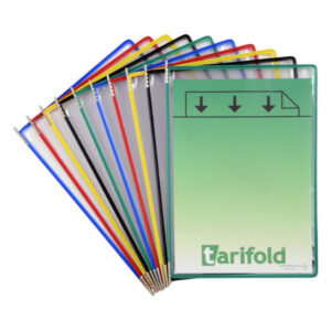 TARIFOLD Funda con Pivotes Pack 10 ud A4 114009