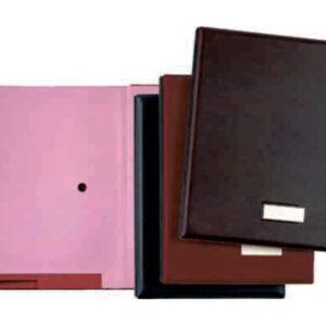 PARDO Portafirmas 335×245 mm 18 separadores Negro 875 N