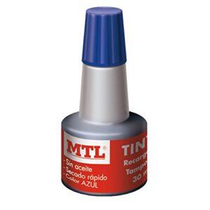 MTL FRASCO TINTA SELLAR AZUL 30 ml