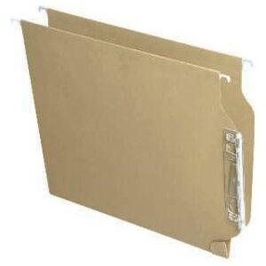 FADE Caja 25 uds. Carpeta colgante Akufade A4 Kraft Visor lateral 100333038