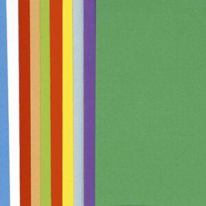 CLAIREFONTAINE Subcarpetas Bahia Caja 100 ud A4 Cartulina Colores surtidos 80 G 800001E