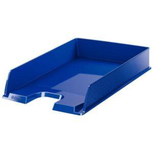 ESSELTE Bandejas sobremesa Europost Vivida 254x61x350 Azul Poliestireno Apilable 623606