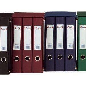 PARDO Módulo Archivador 5ud Folio Lomo 25mm Azul 924503