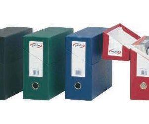 PARDO Archivo definitivo Apaisado Verde 270x390x110 mm Lomo 110 mm 245704
