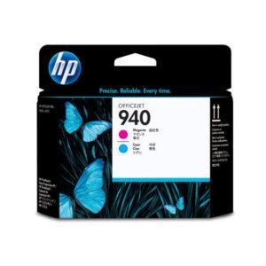 HP Cabezal inyección 940 Magenta/Cyan  C4901A