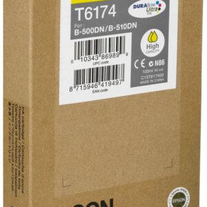 EPSON Cartucho Inyeccion T6174 Amarillo C13T617400