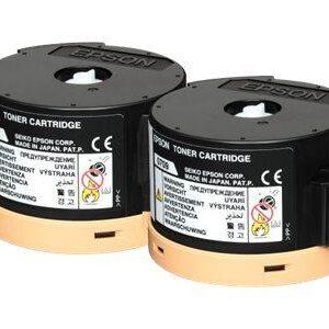 EPSON Toner Laser 0710 Negro Pack 2 0 C13S050710